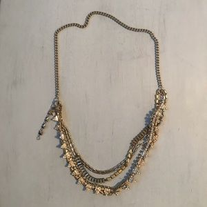 Stella and Dot seven layer necklace with extender